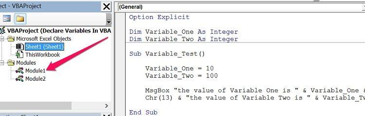Scambiare contenuto di due variabili